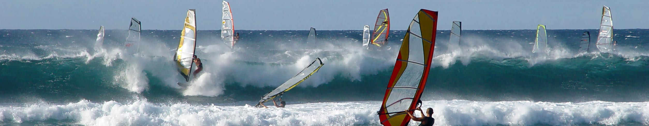 Windsurfing was invented on Hayling Island