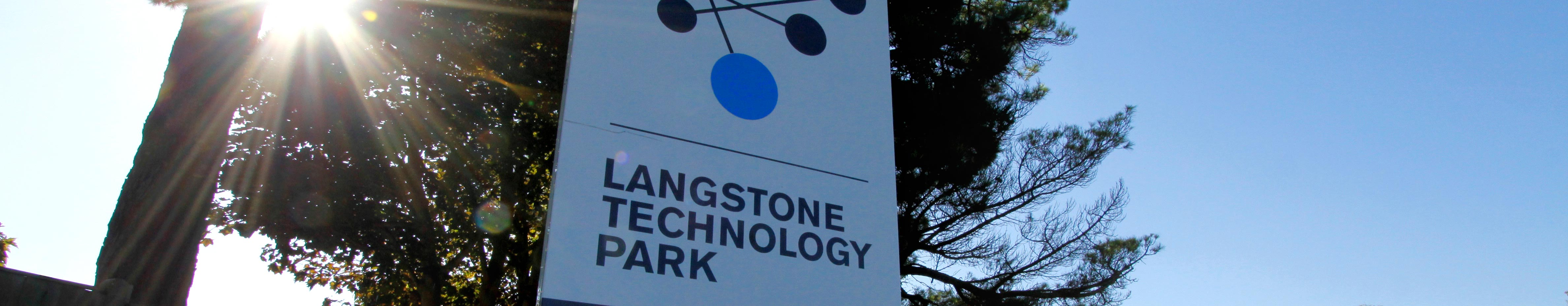 Langstone Technology Park sign