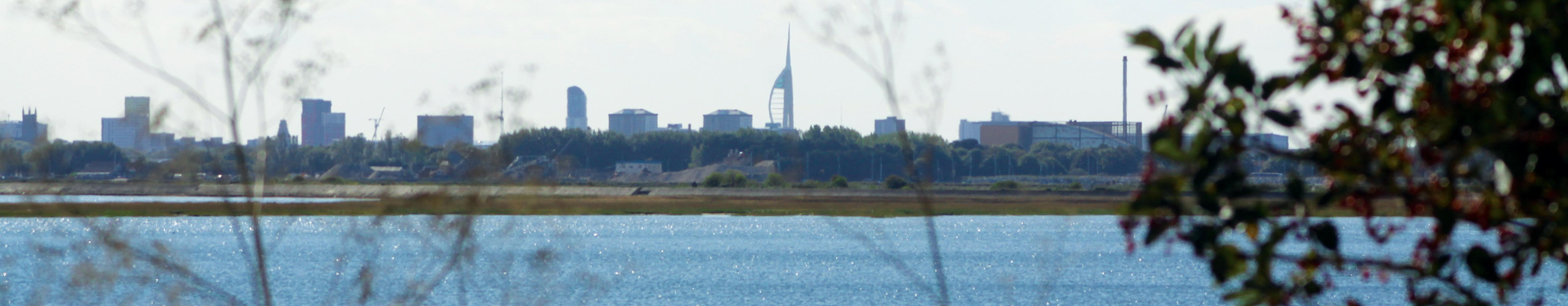 Views of the Spinnaker Tower from Brockhampton West