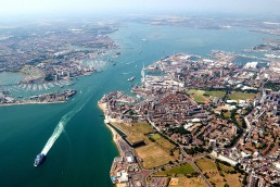 Solent Freeport - image copyright of the UK Government